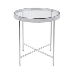Biały stolik Leitmotiv Smooth, 42,5x46 cm