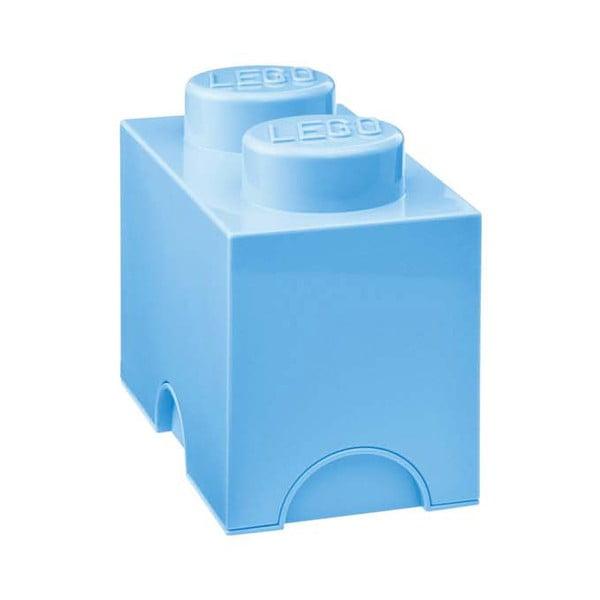 Pudełko Lego, błękitne