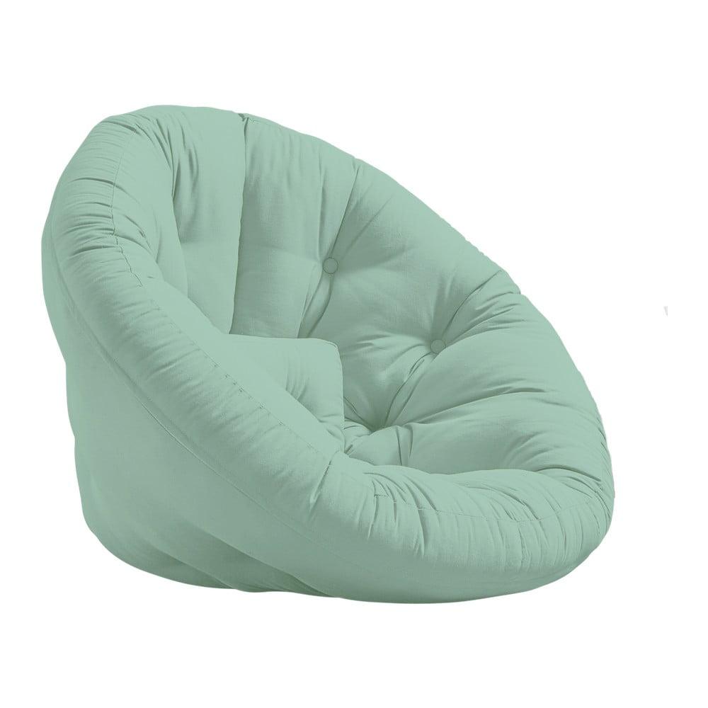 Fotel rozkładany Karup Design Nido Mint