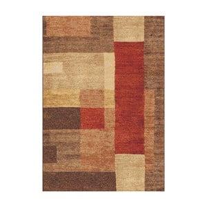 Brązowy dywan Universal Delta, 57x110cm
