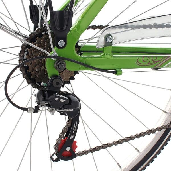 """Damski rower City Bike Papilio Alu White, 28"""", wysokość ramy 48 cm"""
