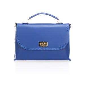 Skórzana torebka Harika, niebieska