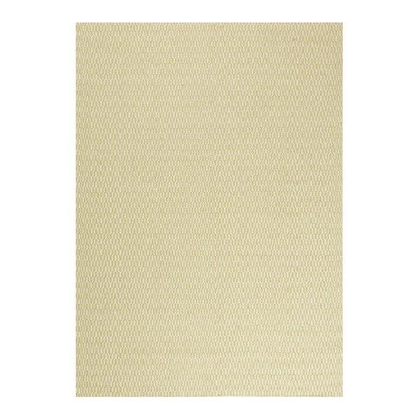 Wełniany dywan Charles Lime, 140x200 cm