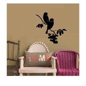 Naklejka winylowa naścienna Ptaki na Gałęzi