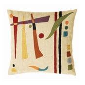 Poszewka na poduszkę Cream Abstract, 45x45 cm