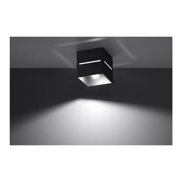 Czarna lampa sufitowa Nice Lamps Lorum