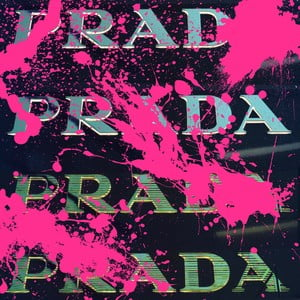 Obraz Beautiful Vandal Black, 30x30 cm