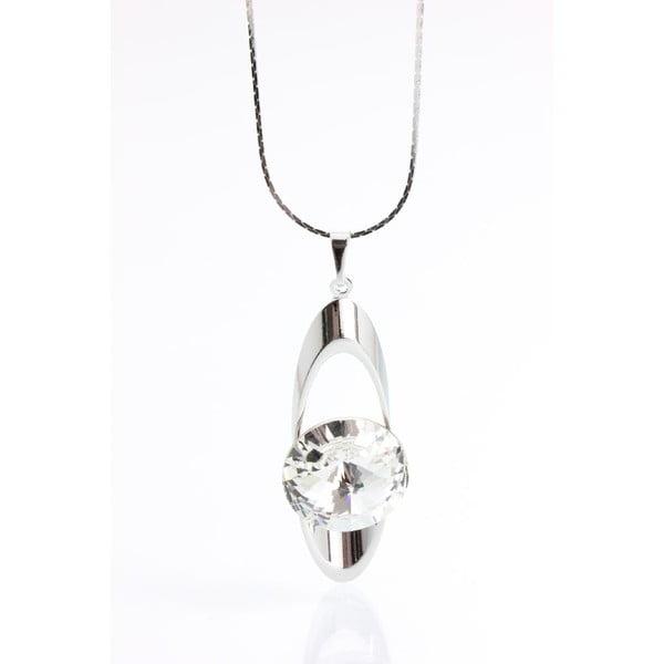 Naszyjnik z kryształami Swarovskiego Yasmine Eye Pure