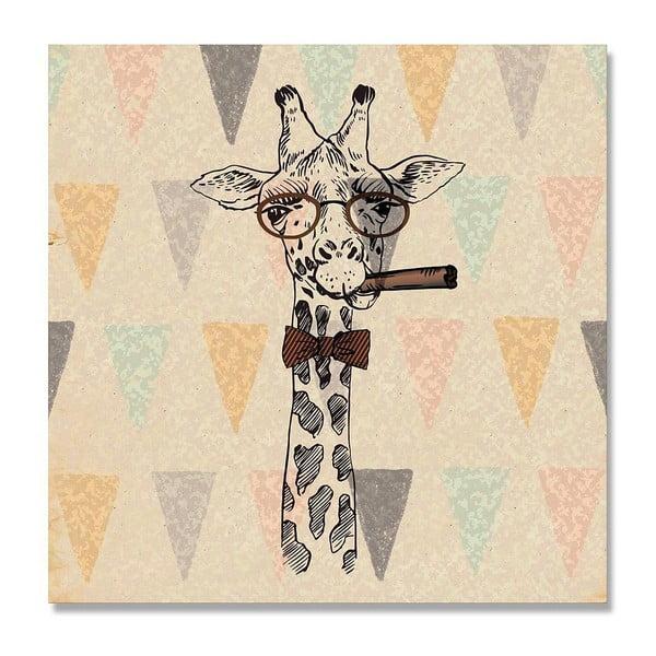 Obraz Really Nice Things Giraffe, 50x50cm