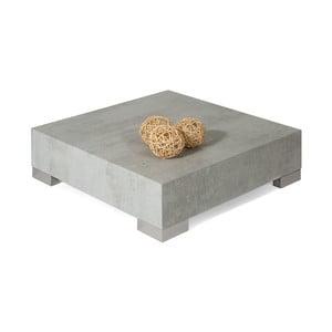 Stolik w kolorze betonu MobiliFiver Icube, 60x60cm