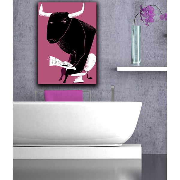 Obraz Poranek byka, 45x70 cm