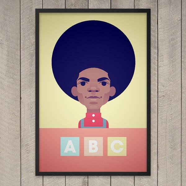 "Plakat ""ABC"", 29,7x42 cm"