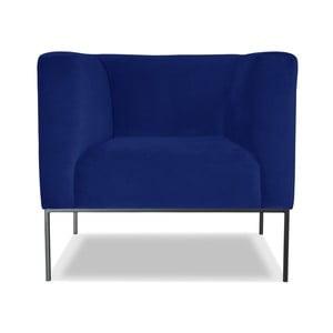 Niebieski fotel Windsor &Co. Sofas Neptune