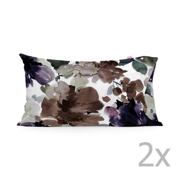 Zestaw 2 bawełnianych poszewek na poduszki Happy Friday Sunste Garden,50x80cm
