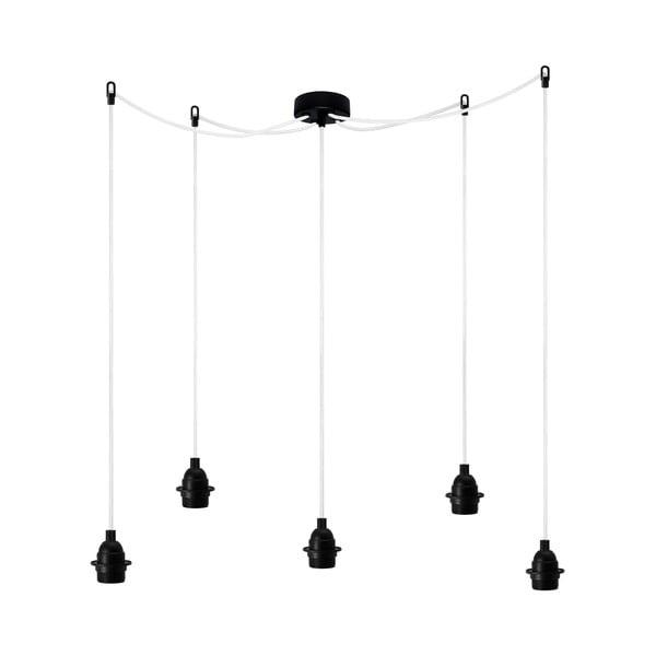 Lampa wisząca Uno Basic, czarna