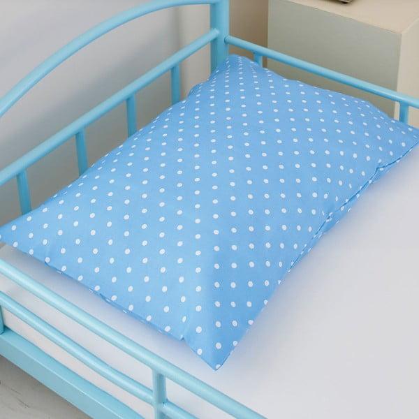 Łóżko dziecięce z materacem i pościelą Bundle, neibieskie