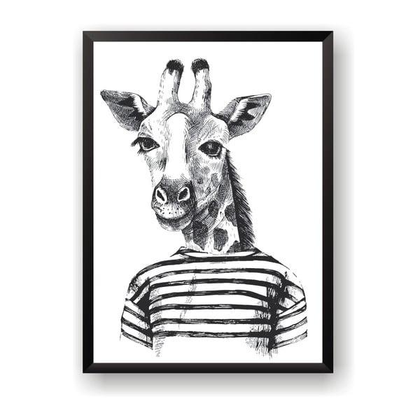 Plakat Nord & Co Hipster Giraffe, 50x70 cm
