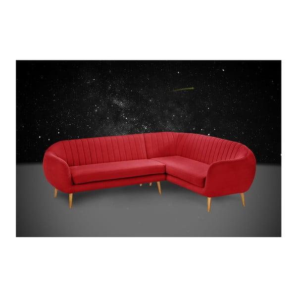 Narożnik prawostronny Comete Grand Red