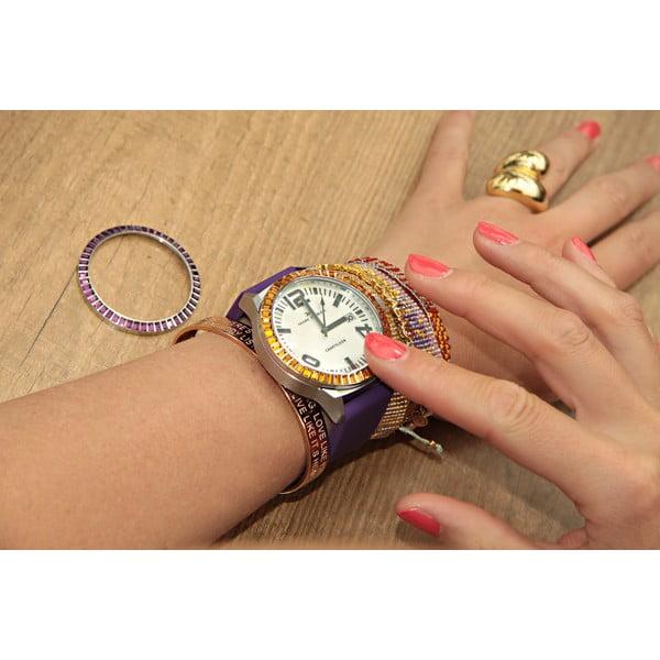Zegarek damski Marc Coblen z dodatkowym paskiem i obręczą P4