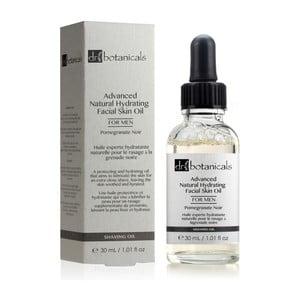Olejek do ciała dla mężczyzn Dr. Botanicals Pomegranate Noir Advanced Natural Skin, 30ml