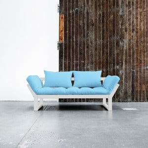 Sofa Karup Edge White/Celeste