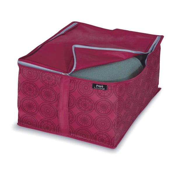 Fioletowy pojemnik na ubrania/pościel Domopak Ella