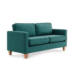 Turkusowa sofa 3-osobowa Vivonita Sorio