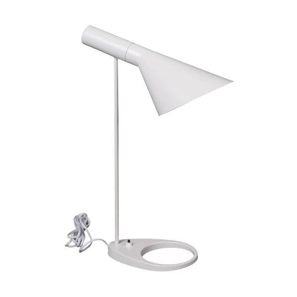 Lampa stołowa Pelikan, biała