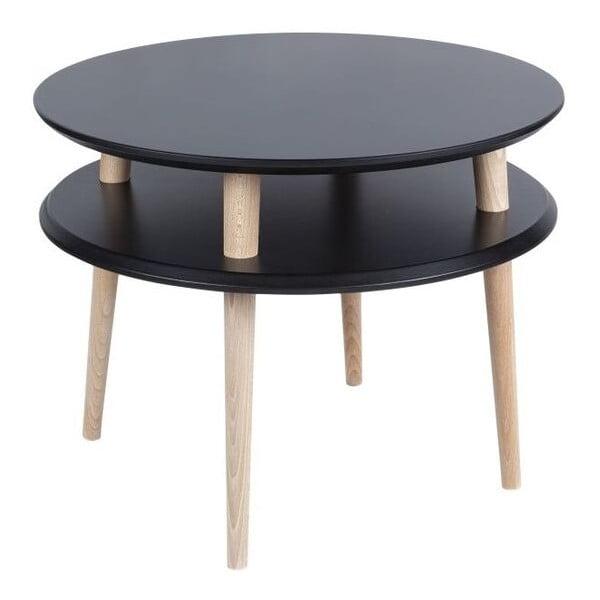 Stolik kawowy UFO 45x57 cm, czarny