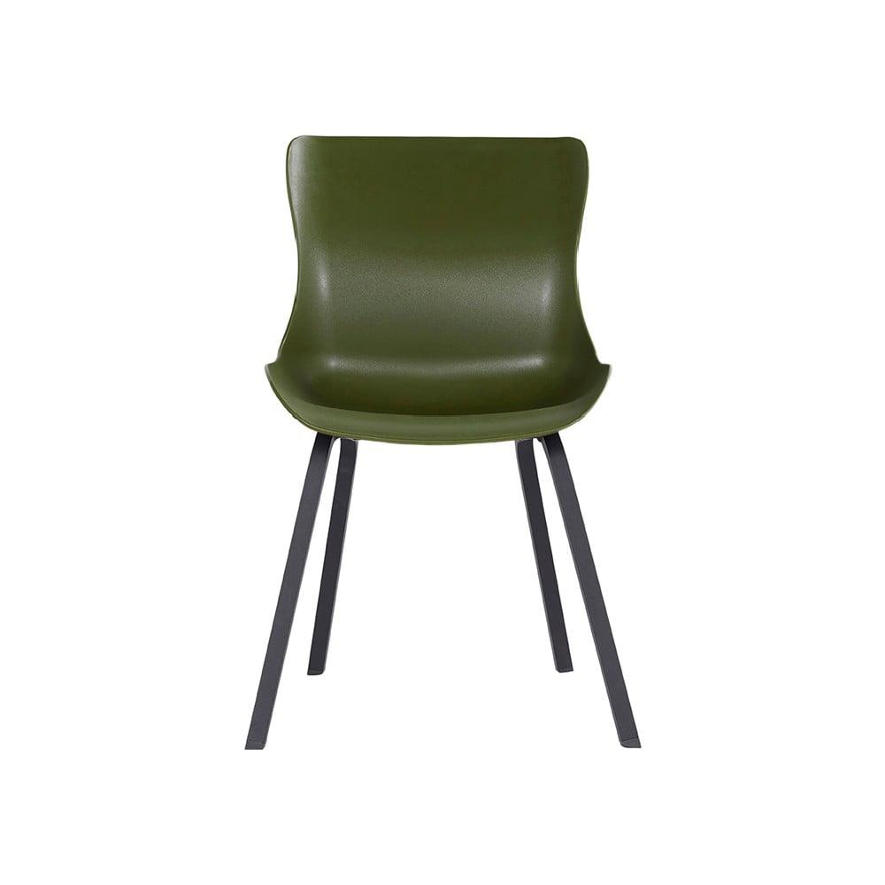 Zestaw 2 ciemnozielonych krzeseł ogrodowych Hartman Sophie Element
