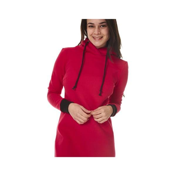 Domowa długa bluza Streetfly Red, M