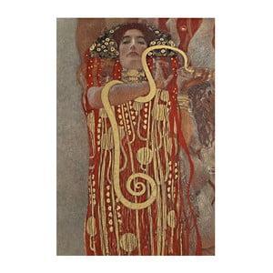Reprodukcja obrazu Gustava Klimta - Hygieia, 60x40 cm