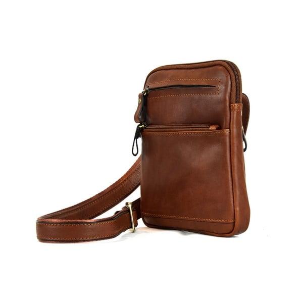 Skórzana torebka Santo Croce 108668 Brown