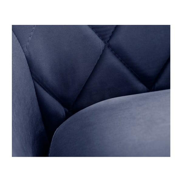Granatowa sofa 2-osobowa Scandi by Stella Cadente Maison Diva