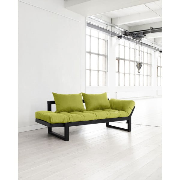 Sofa Karup Edge Black/Pistachio