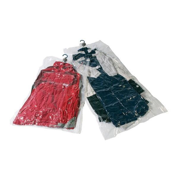 Próżniowe pokrowce na ubrania Compactor Clear M+L, 2 szt.