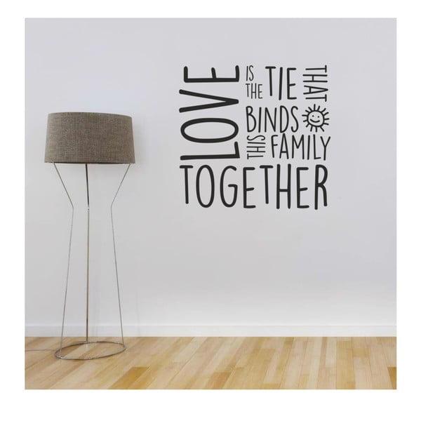 Naklejka Family Love, 90x60 cm