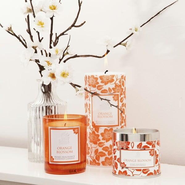 Świeczka zapachowa Spring w prezentowym opakowaniu 40 godzin palenia, aromat pomarańczy