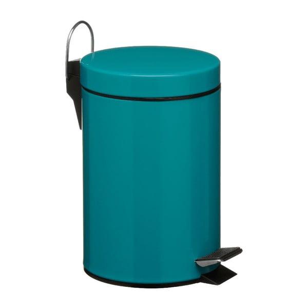 Turkusowy kosz na śmieci z pedałem Premier Housewares, 3 l