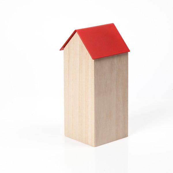 Czerwone pudełko House Large