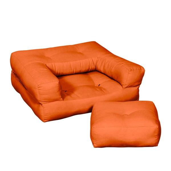 Fotel dziecięcy Karup Baby Cube Orange
