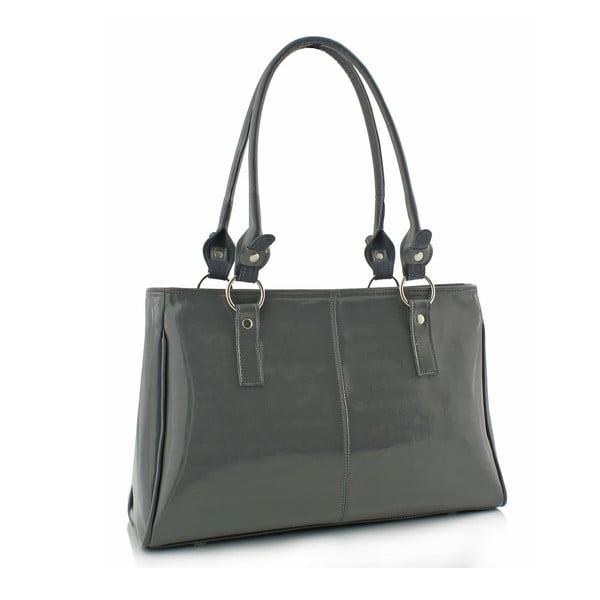 Skórzana torebka Boscollo Grey 3306