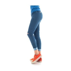 Niebieskie legginsy Lull Loungewear Carrizal, rozm. L
