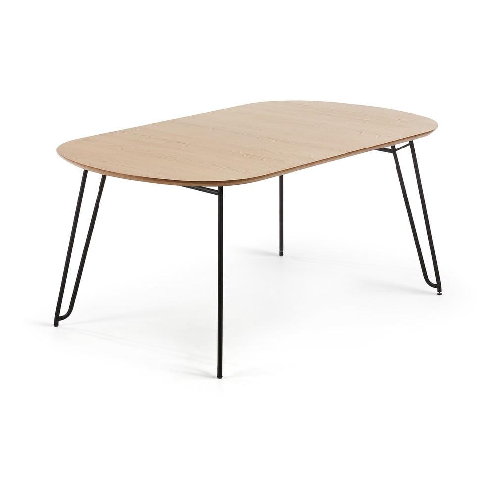 Rozkładany stół do jadalni w dekorze drewna dębowego La Forma Novac, 140 x 90 cm