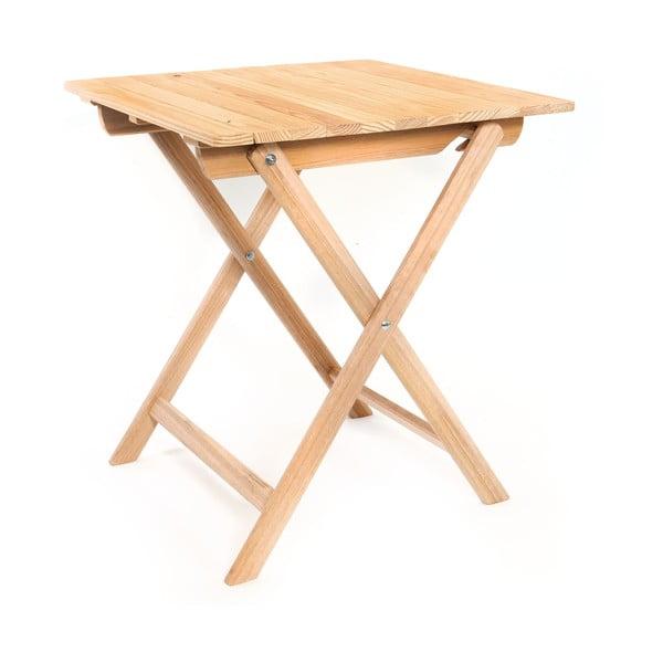 Składany stół Wood Table, 63x72 cm