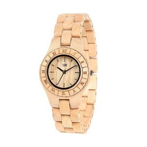 Drewniany zegarek damski Moon Beige