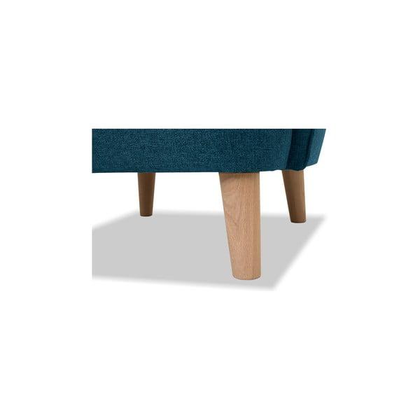Turkusowy fotel Vivonita Eden