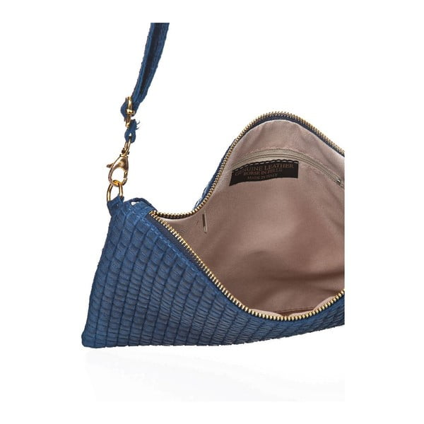 Niebieska torebka skórzana Markese Tryphena