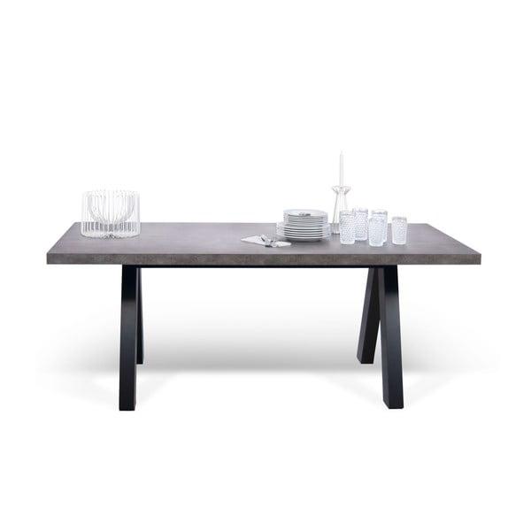 Szary stół do jadalni TemaHome Apex