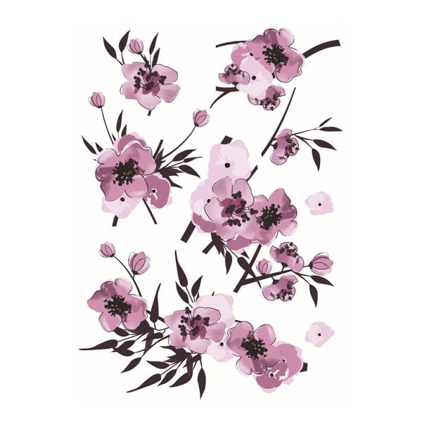 Naklejka Fleurs